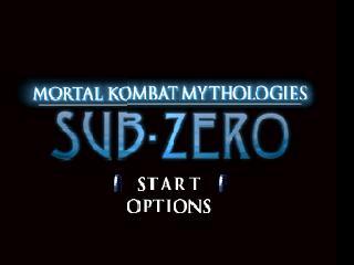 Mortal Kombat Mythologies - Sub-Zero